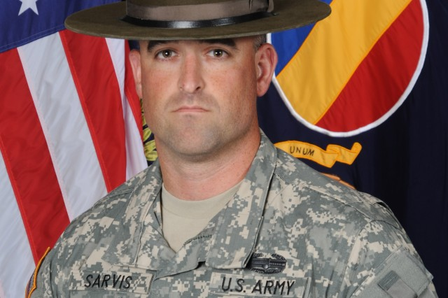 Staff Sgt. Timothy Sarvis, representing Fort Leonard Wood, Mo., was named the active-duty 2010 Drill Sergeant of the Year at Fort Monroe, Va.