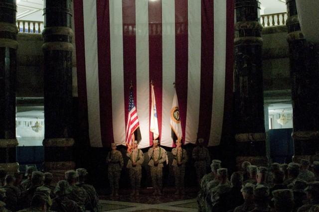 USF-I celebrates 235 years of Army history