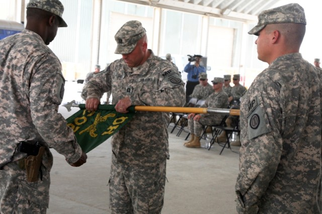 203rd MP BN ends mission in Iraq