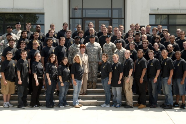 The Natick Soldier Systems Center celebrated the Army's 235th birthday. The speaker was Lt. Gen. David Valcourt, the former Deputy Commanding General of the U.S. Army Training and Doctrine Command. During the ceremony, 53 Future Soldiers were administered the Oath of Enlistment.