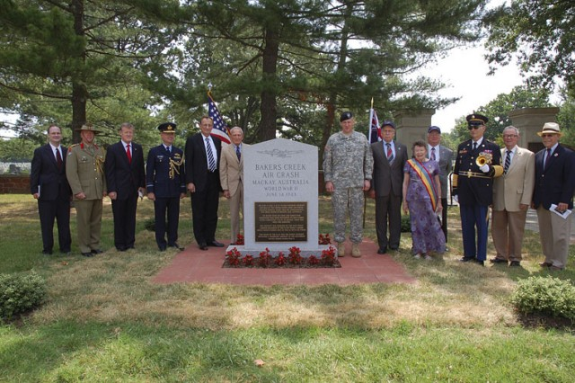 Bakers Creek Memorial ceremony pays tribute to War veterans on Army birthday