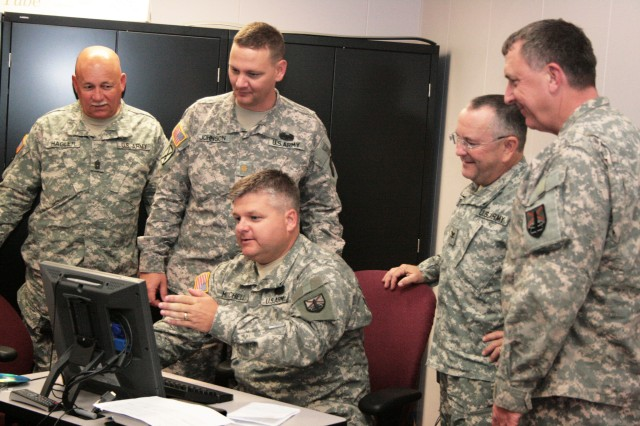 Alabama Guard Brigade staff trains at ASC