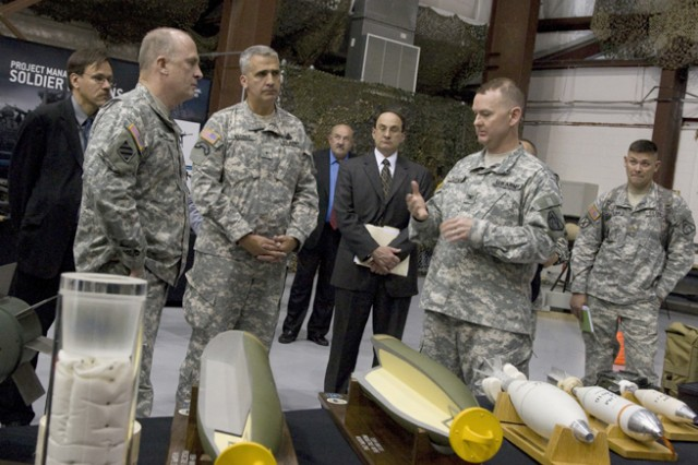 IMCOM commander tours Picatinny Arsenal