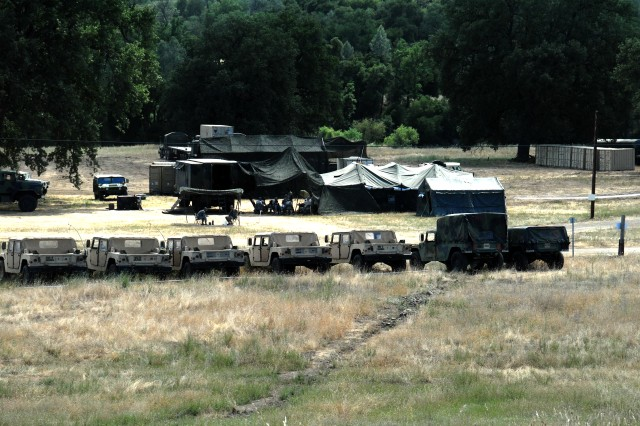 Combat Support Training Exercise will better prepare approximately 2,100 Soldiers for future deployments.  Brig. Gen. James T. Cook, commanding general of the 91st Training Brigade, said the training capacity of Fort Hunter Liggett is steadily expanding and is predicted to increase up to 10,000 Soldiers in one training session.