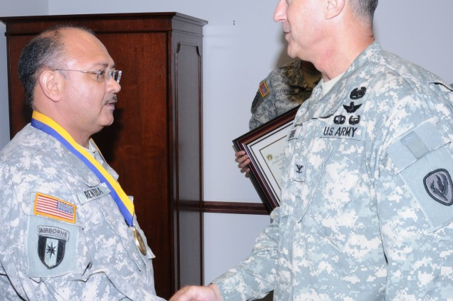 National Guardsman earns Order of St. Michael