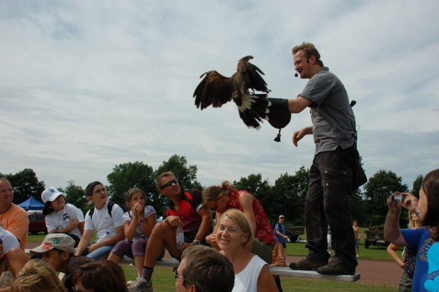 A Falconer will be on hand to entertain America Fest participants throughout the day and will feature and American Bald Eagle.