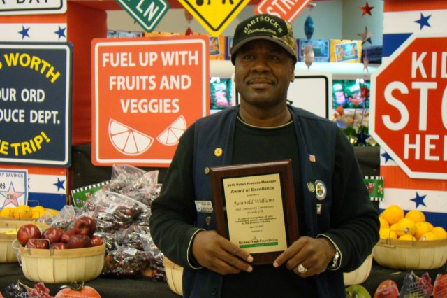 Commissary produce manager wins industry recognition