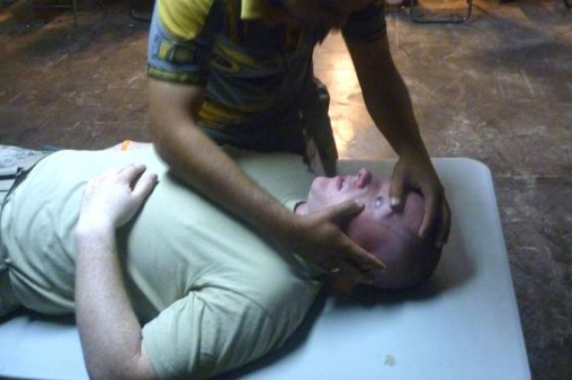 Medics teach IP 1