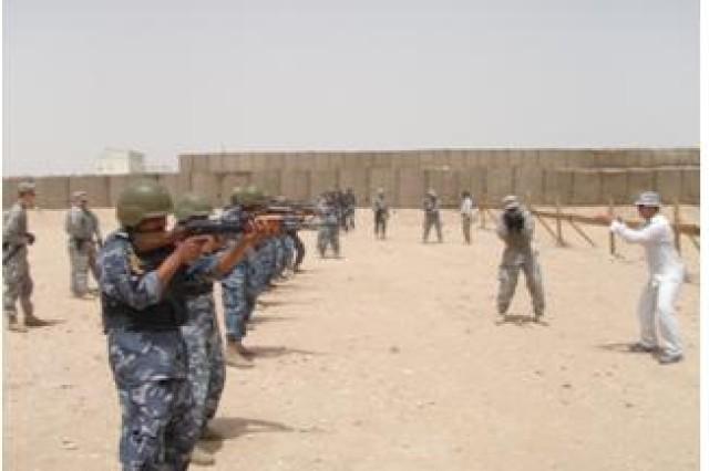Iraqi Tactical Skills Unit conducts urban training