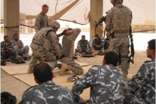 Iraqi Tactical Skills Unit conducts urban training