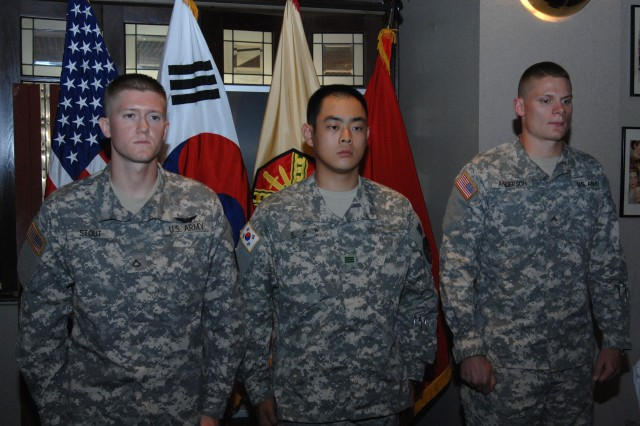 IMCOM-Korea top warriors named