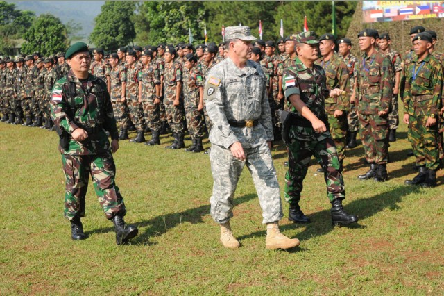 U.S. Soldiers forge new friendships in Indonesia