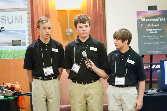 eCybervision 7th-grade winners