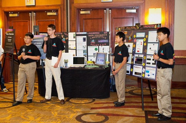 eCybervision 8th-grade winners