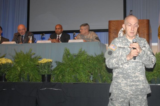 Justice leads AUSA panel discussion