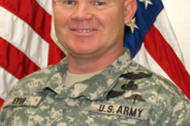Command Sgt. Maj. Michael Eyer