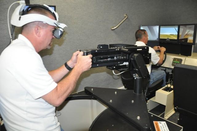 Soldiers train on virtual battlefield