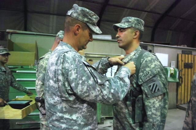 Aviators receive Combat Action Badge
