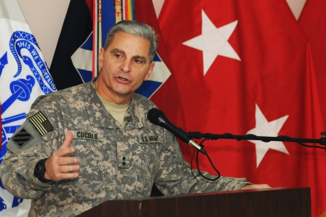 Maj. Gen. Tony Cucolo