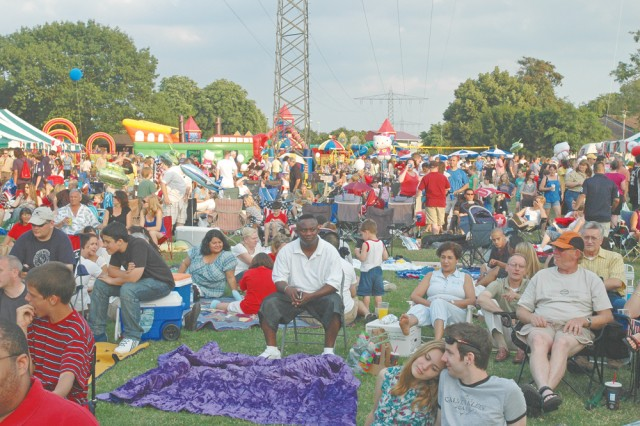 Residents and community members enjoy Fourth of July fun and festivities happening across Germany.