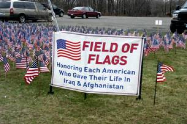 Freedom Fest field of flags honors fallen servicemembers