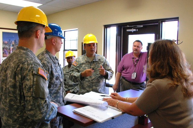 Special Troops Battalion - Future Staffers Visit Fort Bragg Site