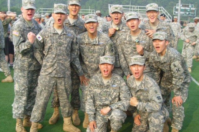 Nine KATUSA Soldiers earn Expert Infantry Badge