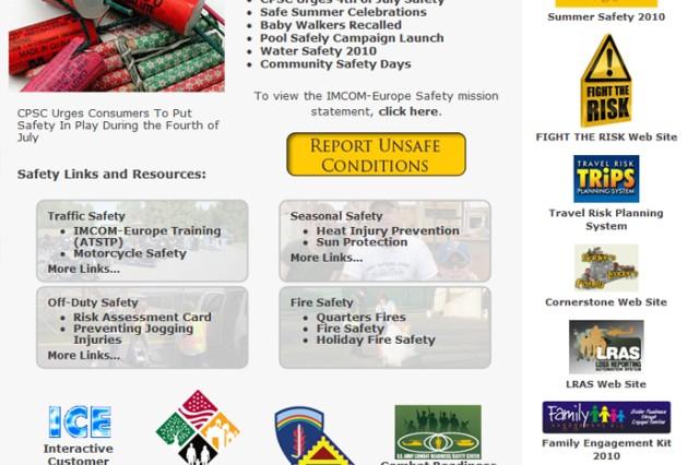 Safety Webpage