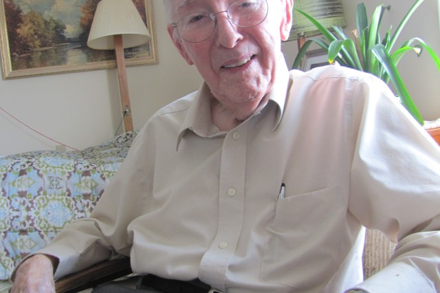Dieter Grau, 97, recalls the challenges and opportunities of the early years of the nation's space program. Grau was a member of the original German rocket team, which will be recognized during a reunion event Saturday that will honor the 60th anniversary of the German rocket team's move to the U.S., and the 50th anniversary of the German rocket team's move from the Army at Redstone Arsenal to NASA's Marshall Space Flight Center.