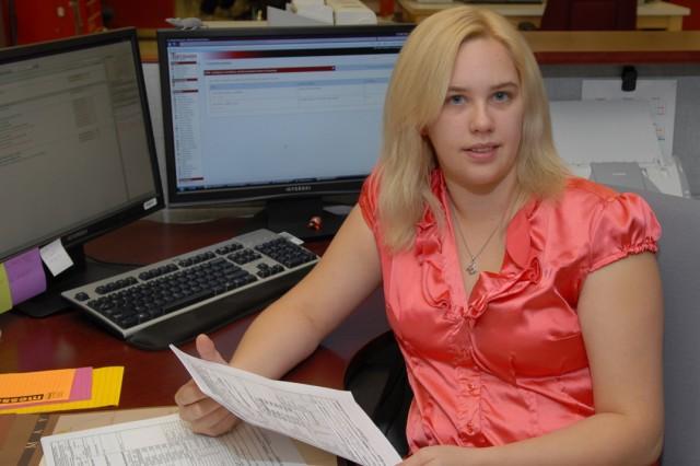 Dawn Mitchell tracks deployments for dozens of Field Service Representatives across multiple programs.