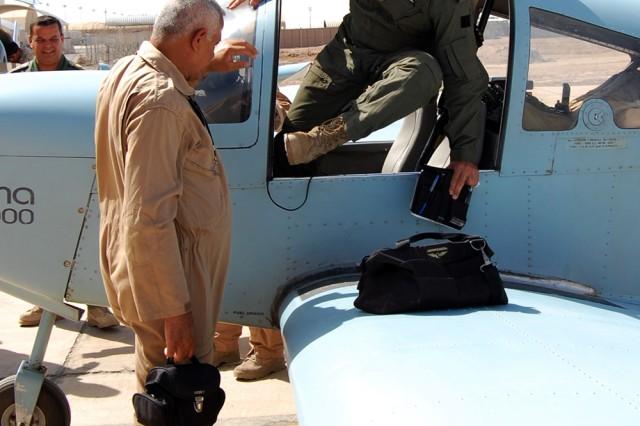 IqAF, US joint flight 3
