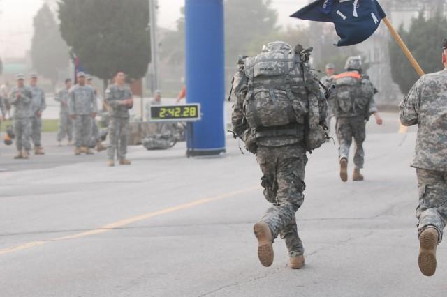 Soldiers, KATUSAS earn Expert Infantry Badge