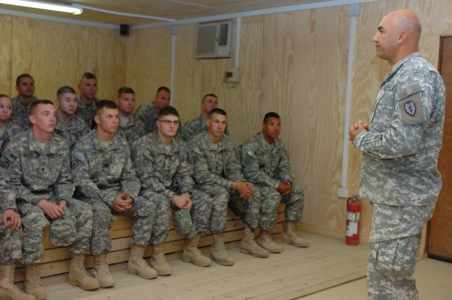 25th CAB grooms future enlisted leaders while deployed to USD-North