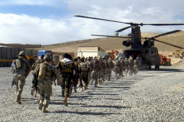 NATO developing education to 'cross-fertilize' Afghan forces