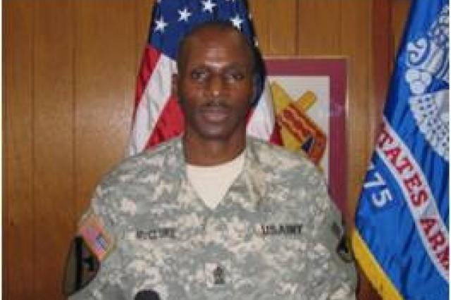 Sgt. Maj. Willie G. McClure, Jr.