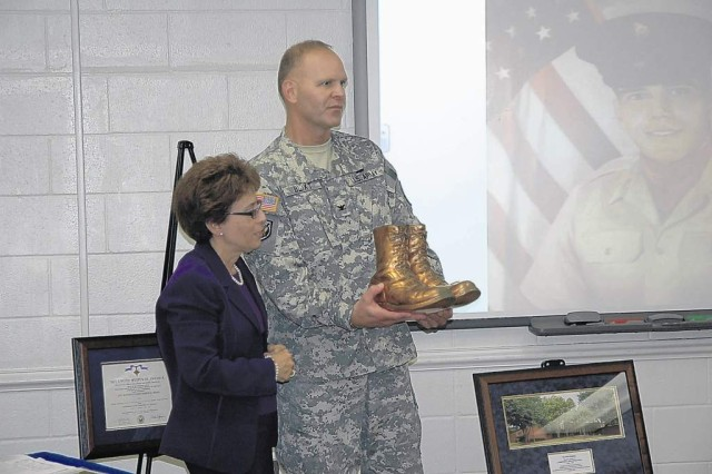 Sosa building rededicated to fallen corporal