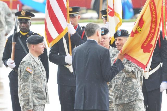 Fort Hood garrison command changes hands