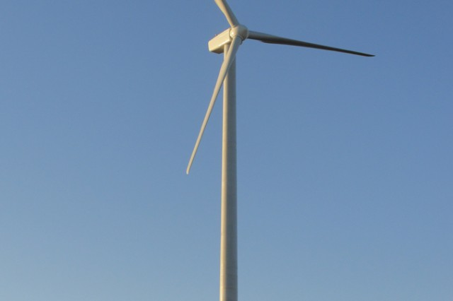 Tooele Army Depot is the first Army installation to use the wind as a renewable energy resource. The turbine is expected to generate at least $200,000 per year for the depot.