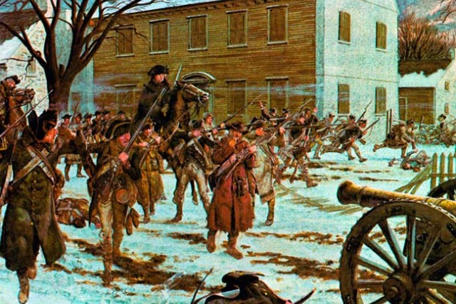 Trenton, 26 December 1776.