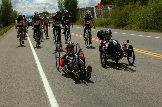 From sea to shining sea, wounded warriors inspire the nation