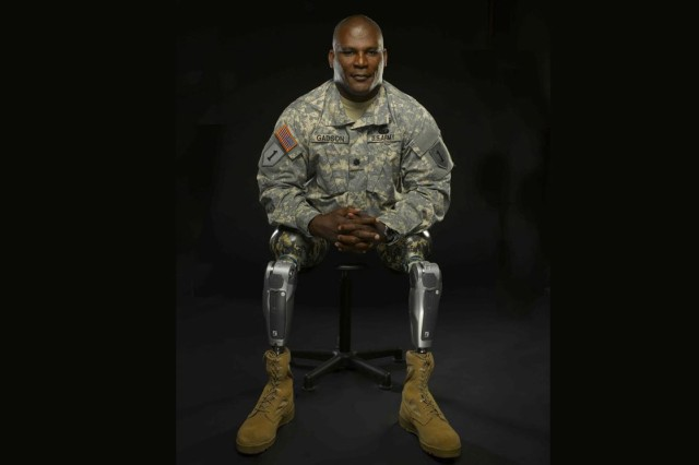 Lt. Col. Gregory D. Gadson, a West Point graduate, lost both of his legs to a roadside bomb in Iraq in 2007. Despite nearly losing his life, Gadson went on to complete two graduate degrees and recovered with assistance from the Wounded Warrior Program, which he is now responsible for.
