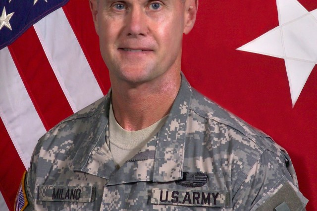 Maj. Gen. James M. Milano is the commanding general of U.S. Army Basic Combat Training Center of Excellence and Fort Jackson.