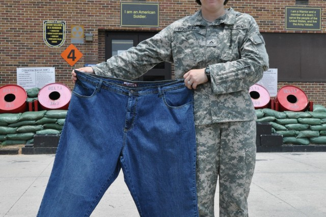 Biggest AIT 'loser': 369th Soldier drops pounds to join Army