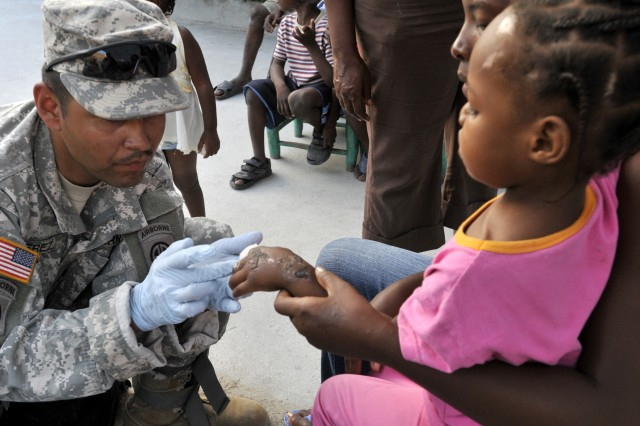 Expeditionary Contracting Command personnel produced contracts that helped ensure vital life-sustaining supplies arrived to Haiti for deployed Soldiers and the locals.