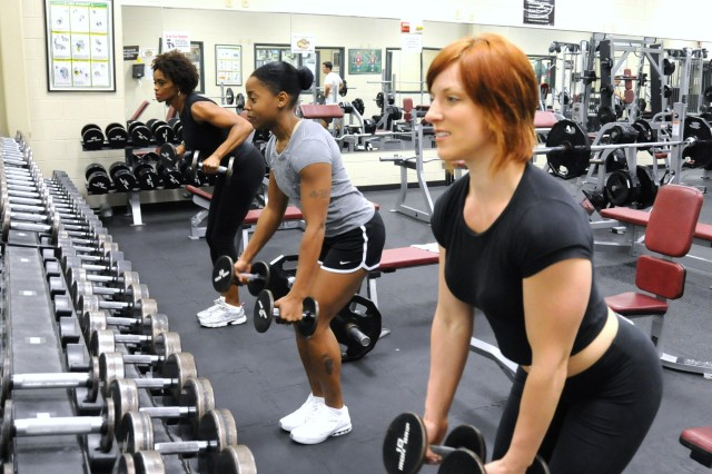 Hunter female weightlifters