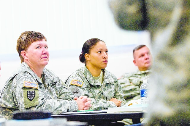 Master Resilience Trainer Course trials at Fort Meade