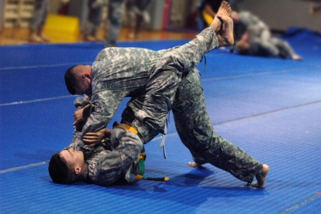 Combatives contest