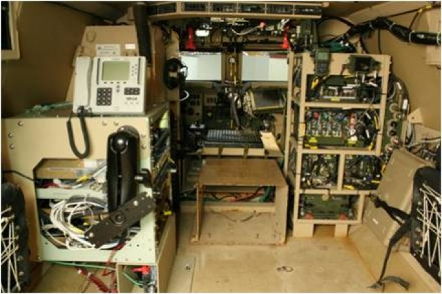 Network Integration Kit equipment is shown at the White Sands Missile Range, N.M.