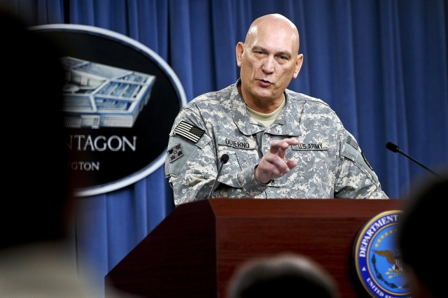 U.S. Military on Track for Iraq Drawdown, Odierno Says