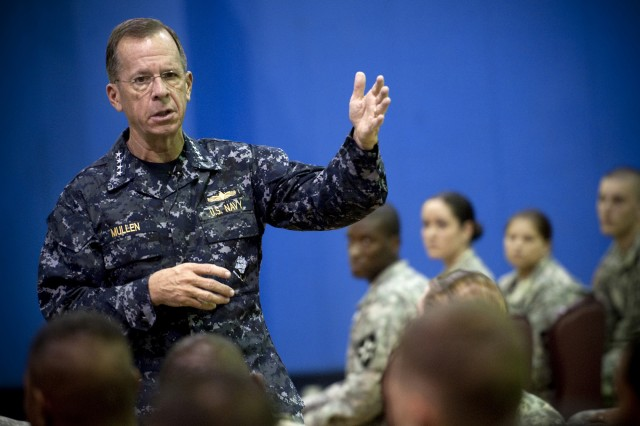 Mullen: Military Needs Leaders to Address Suicide Issue